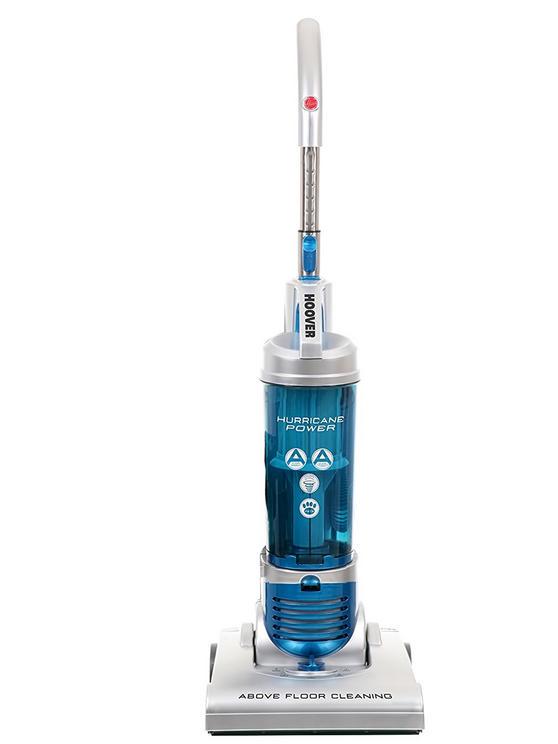 Hoover Hurricane HU71HU05 Upright Vacuum Cleaner, 700 W, Silver [Energy Class A]