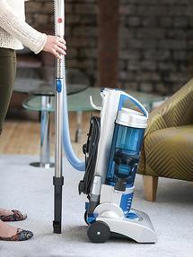 Hoover Hurricane HU71HU05 Upright Vacuum Cleaner, 700 W, Silver [Energy Class A] Thumbnail 6