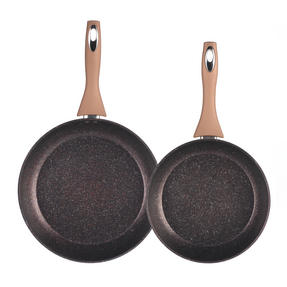 Salter Marble Collection Set Of 2 Frying Pans 24 28cm