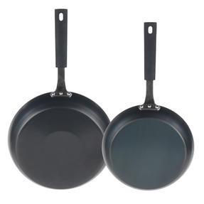 Salter Pan For Life 24/28cm Frying Pans, Black Thumbnail 3