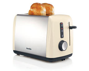 Breville VTT758 Colour Collection 2 Slice Toaster, Cream Thumbnail 2