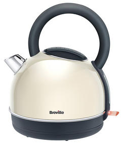 Breville Colour Collection Kettle and 2 Slice Toaster Set, Cream Thumbnail 2