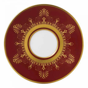 Wedgwood 40000669 Anthemion Ruby Espresso Saucer Thumbnail 1