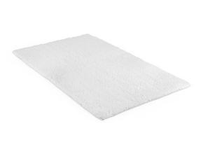 Beldray LA038951 2 Piece Latex Backed Plain White Bathroom Mat Set Thumbnail 2