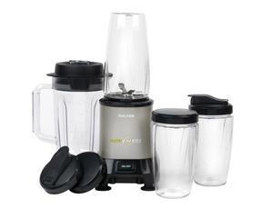 Salter Nutri Vortex Super Charged Multi-Purpose Titanium Nutrient Extractor Blender, 1.5 Litre, 1200 W