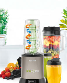 Salter EK2244 Nutri Vortex Super Charged Multi-Purpose Titanium Nutrient Extractor Blender, 1.5 Litre, 1200 W Thumbnail 5