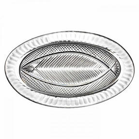 Waterford 40000634 Designer Studio Atlantic Herring Crystal  Platter - Limited Edition Thumbnail 1