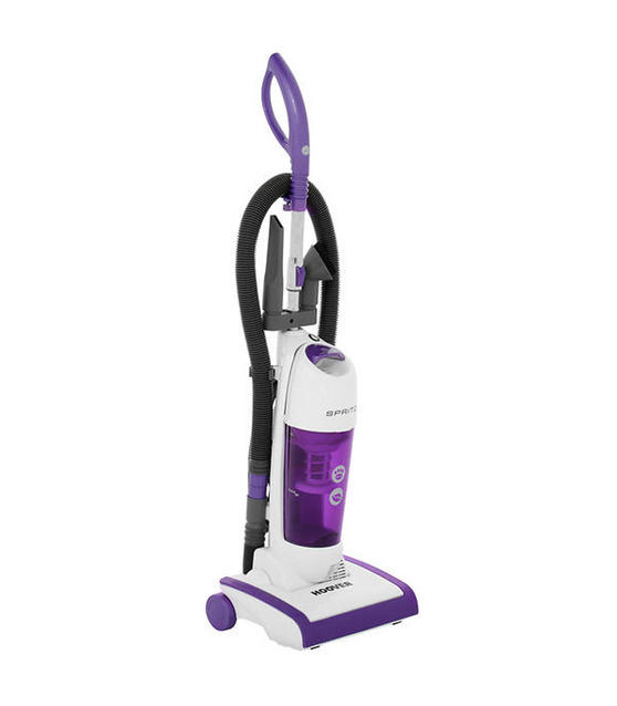 Hoover AL71SZ03001 Spritz Pets Bagless Upright Vacuum Cleaner, 89DB Noise Level, 1.9 Litre, 700W, Purple/White