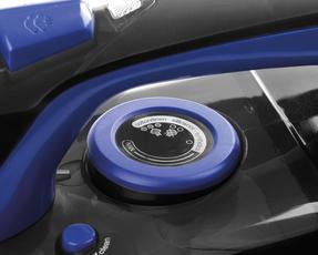 Beldray BEL0562 Max Steam Pro Steam Iron, 3000 W, Black/Blue Thumbnail 6