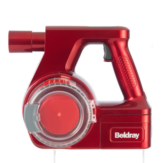 Beldray Quick Cordless Lite Vacuum Cleaner, 0.3 Litre, 22.2 V, Red Thumbnail 2