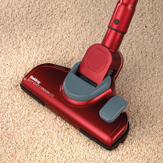 Beldray Quick Cordless Lite Vacuum Cleaner, 0.3 Litre, 22.2 V, Red Thumbnail 5