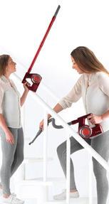 Beldray BEL0625 Quick Cordless Lite Vacuum Cleaner, 0.3 Litre, 22.2 V, Red Thumbnail 3