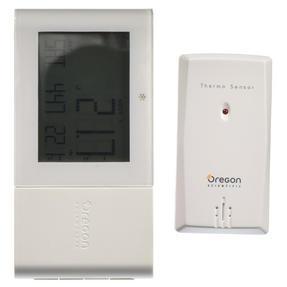 Oregon Scientific RMR262BOXW Alizé Weather Station Thermometer, White