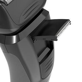 Remington PF7400 Comfort Series Plus Foil Shaver and Beard Trimmer, Black/Silver Thumbnail 3