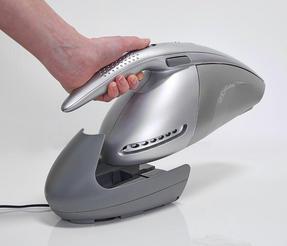Hoover SJ72D4A Jovis Cordless Rechargable Handheld Vacuum Cleaner, 7.2V, Grey/Silver Thumbnail 3