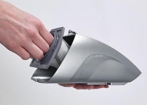Hoover SJ72D4A Jovis Cordless Rechargable Handheld Vacuum Cleaner, 7.2V, Grey/Silver Thumbnail 4