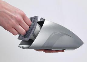Hoover SJ72D4A Jovis Cordless Rechargable Handheld Vacuum Cleaner, 7.2V, Grey/Silver Thumbnail 4
