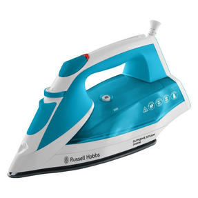 Russell Hobbs 23040 Supreme Steam Traditional Iron, 2400 W, Blue/White