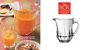 RCR 23833020006 Provenza Crystal Jug, Italian Manufactured, 1.17 Litres Thumbnail 3