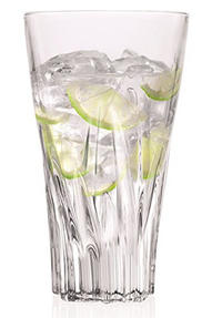 RCR 25716020006 Crystal Fluente Hiball Tumbler Glasses, 400ml, 13.5cm, Set of 6 Thumbnail 1