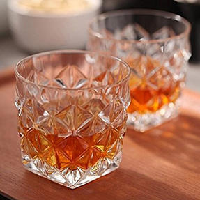 RCR 25752020006 Enigma Luxion Crystal Glass Whisky Tumblers, 370 ml, Set of 6 Thumbnail 3