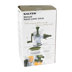Salter BW03814GR Green And White Manual Plastic Juicer Thumbnail 7