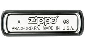 Zippo 28770 Flaming Skull Lighter in Black Presentation Box, Matte White Thumbnail 2