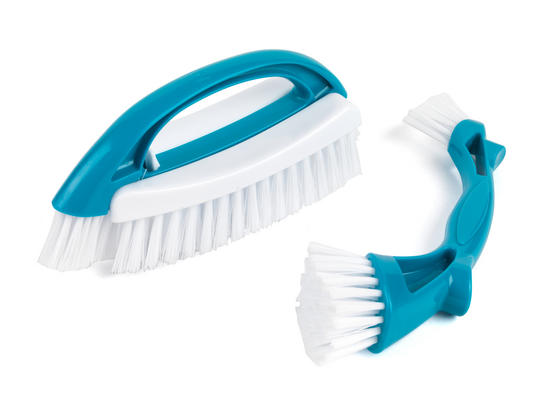 Beldray Scrubbing Brush Cleaning Set, Turquoise Thumbnail 1
