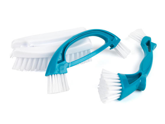 Beldray Scrubbing Brush Cleaning Set, Turquoise Thumbnail 2