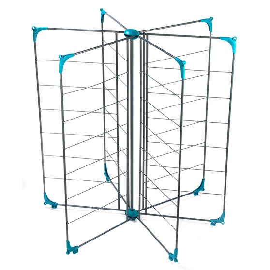 Beldray Deluxe Airer, 18m, Steel, Turquoise Thumbnail 1