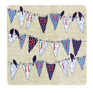 Inspire BCH269416 Luxury Melodie Placemats, 29 x 29cm, Hardboard, Party, Set of 4 Thumbnail 1