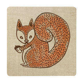 Inspire BCH281838 Luxury Forest Friend Placemats, 29 x 29cm, Hardboard, Natural, Set of 4 Thumbnail 2