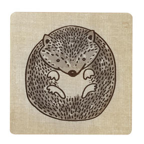 Inspire BCH281838 Luxury Forest Friend Placemats, 29 x 29cm, Hardboard, Natural, Set of 4 Thumbnail 3