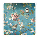 Inspire BCH281876 Luxury Spring Blossom Placemats, 29 x 29cm, Hardboard, Blue/Pink, Set of 4 Thumbnail 1