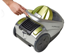 Hoover Hurricane Cylinder Vacuum Cleaner, 2 Litre, 850W, Black/Silver [Energy Class A] Thumbnail 2