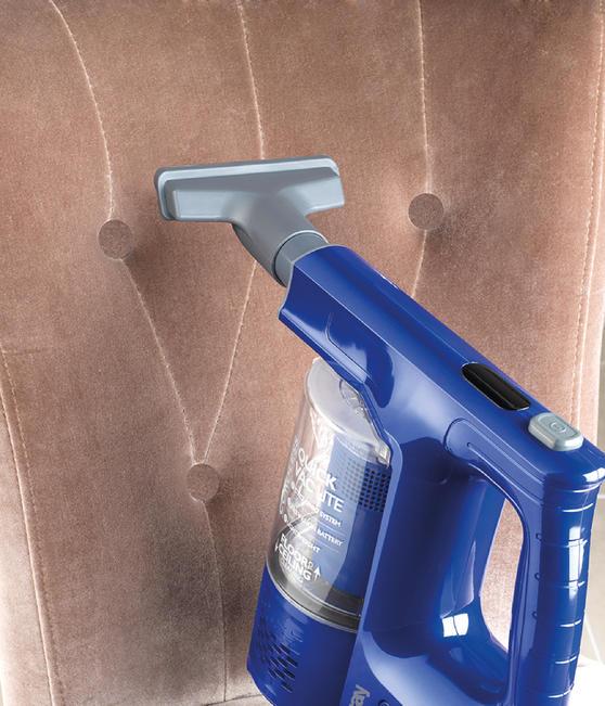 Beldray Cordless Quick Vac Lite, 22.2 V, Blue Thumbnail 4