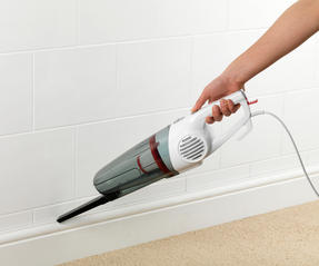 Prolectrix E70251WK 2 in 1 Stick Vac Upright and Handheld Vacuum Cleaner, 600 W, White Thumbnail 5