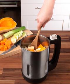 Salter EK2411 Electric Soup Maker, 1.1 L, 1000 W, Stainless Steel Thumbnail 8