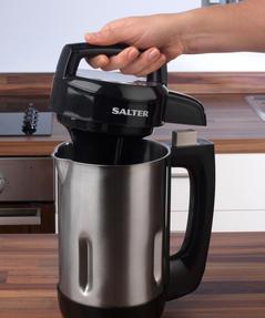 Salter EK2411 Electric Soup Maker, 1.1 L, 1000 W, Stainless Steel Thumbnail 9