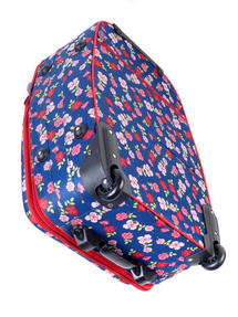 Constellation Eva Ditsy Floral Print Suitcase, 18?, Raspberry Thumbnail 2