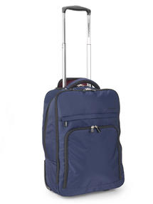 Constellation LG00563NAVSAMIL The Traveller Multifunctional Waterproof Suitcase Backpack, Navy Thumbnail 1