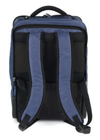 Constellation LG00563NAVSAMIL The Traveller Multifunctional Waterproof Suitcase Backpack, Navy Thumbnail 4