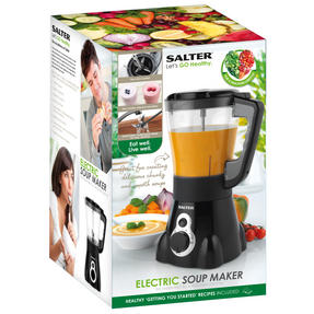 Salter Go Healthy Electric Soup Maker with Detachable Blades, 1000W, 1.5 Litre Thumbnail 7