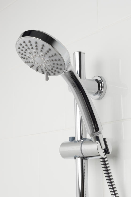 Beldray LA036995 5 Function Replacement Shower Head, Chrome