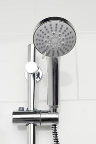 Beldray LA036995 5 Function Replacement Shower Head, Chrome Thumbnail 2