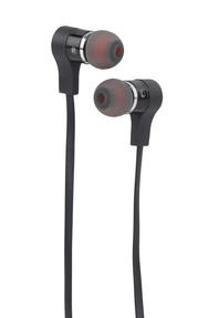 Intempo EE1212BLK Metal Earphones, Black Thumbnail 1