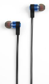 Intempo EE1212BLU Metal Earphones, Blue Thumbnail 2