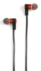 Intempo EE1212RED Metal Earphones, Red Thumbnail 2