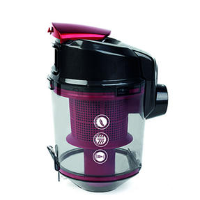 Prolectrix Compact Cylinder Vac, 2 Litre, 1000 W, Red Thumbnail 3