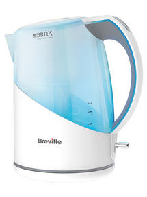 Breville VKJ932 Brita Maxtra Kettle, 1 Litre, 3000W, White Thumbnail 1
